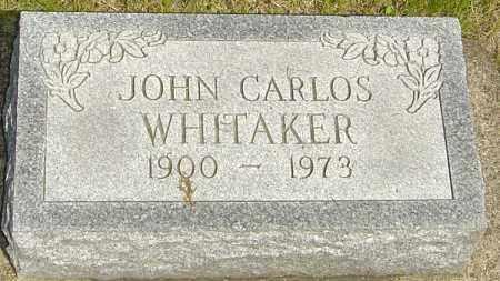 WHITAKER, JOHN CARLOS - Montgomery County, Ohio | JOHN CARLOS WHITAKER - Ohio Gravestone Photos
