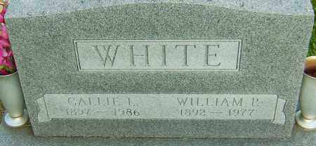 WHITE, WILLIAM P - Montgomery County, Ohio | WILLIAM P WHITE - Ohio Gravestone Photos
