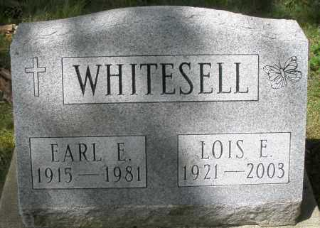 WHITESELL, EARL E. - Montgomery County, Ohio | EARL E. WHITESELL - Ohio Gravestone Photos