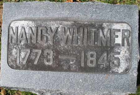 WHITMER, NANCY - Montgomery County, Ohio | NANCY WHITMER - Ohio Gravestone Photos