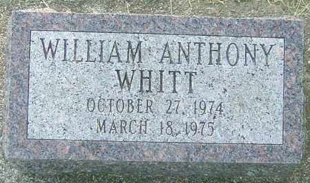 WHITT, WILLIAM ANTHONY - Montgomery County, Ohio | WILLIAM ANTHONY WHITT - Ohio Gravestone Photos