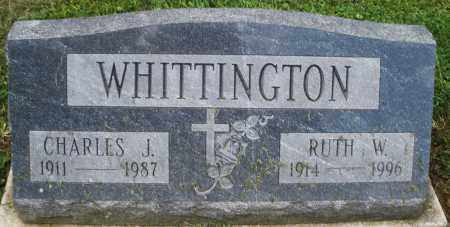 WHITTINGTON, CHARLES J. - Montgomery County, Ohio | CHARLES J. WHITTINGTON - Ohio Gravestone Photos