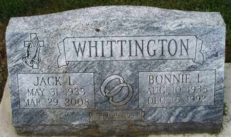 WHITTINGTON, JACK L. - Montgomery County, Ohio | JACK L. WHITTINGTON - Ohio Gravestone Photos