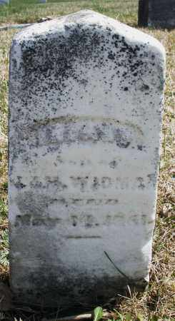 WIDMAN, INFANT - Montgomery County, Ohio | INFANT WIDMAN - Ohio Gravestone Photos