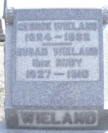 WIELAND, GEORGE - Montgomery County, Ohio | GEORGE WIELAND - Ohio Gravestone Photos