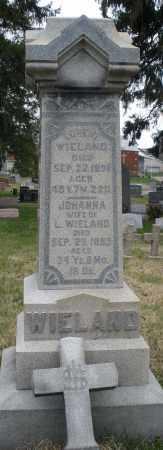 WIELAND, LORENZ - Montgomery County, Ohio | LORENZ WIELAND - Ohio Gravestone Photos