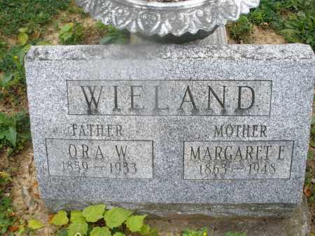 WIELAND, ORA W. - Montgomery County, Ohio | ORA W. WIELAND - Ohio Gravestone Photos