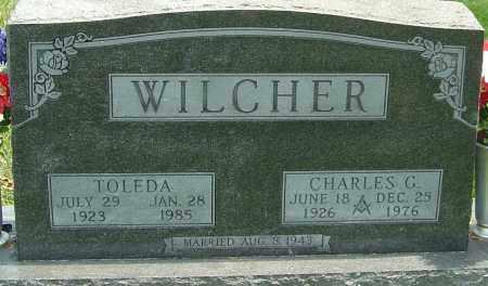 WILCHER, CHARLES G - Montgomery County, Ohio | CHARLES G WILCHER - Ohio Gravestone Photos