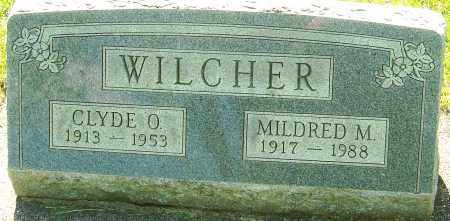 WILCHER, CLYDE O - Montgomery County, Ohio | CLYDE O WILCHER - Ohio Gravestone Photos