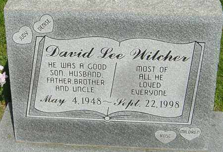 WILCHER, DAVID LEE - Montgomery County, Ohio | DAVID LEE WILCHER - Ohio Gravestone Photos