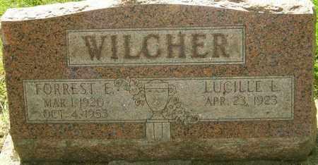 WILCHER, FORREST E - Montgomery County, Ohio | FORREST E WILCHER - Ohio Gravestone Photos