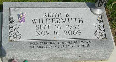 WILDERMUTH, KEITH B - Montgomery County, Ohio | KEITH B WILDERMUTH - Ohio Gravestone Photos