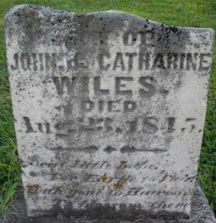 WILES, SON - Montgomery County, Ohio   SON WILES - Ohio Gravestone Photos