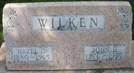 WILKEN, HAZEL D. - Montgomery County, Ohio | HAZEL D. WILKEN - Ohio Gravestone Photos