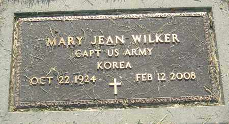 WILKER, MARY JEAN - Montgomery County, Ohio | MARY JEAN WILKER - Ohio Gravestone Photos