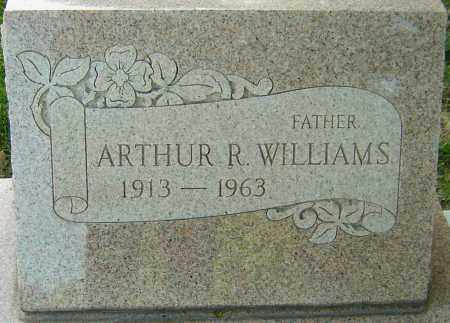 WILLIAMS, ARTHUR R - Montgomery County, Ohio | ARTHUR R WILLIAMS - Ohio Gravestone Photos