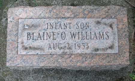 WILLIAMS, BLAINE O. - Montgomery County, Ohio | BLAINE O. WILLIAMS - Ohio Gravestone Photos