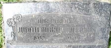 WILLIAMS, JUDITH MARIE - Montgomery County, Ohio | JUDITH MARIE WILLIAMS - Ohio Gravestone Photos