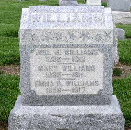 WILLIAMS, EMMA O. - Montgomery County, Ohio | EMMA O. WILLIAMS - Ohio Gravestone Photos