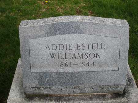 WILLIAMSON, ADDIE ESTELL - Montgomery County, Ohio | ADDIE ESTELL WILLIAMSON - Ohio Gravestone Photos