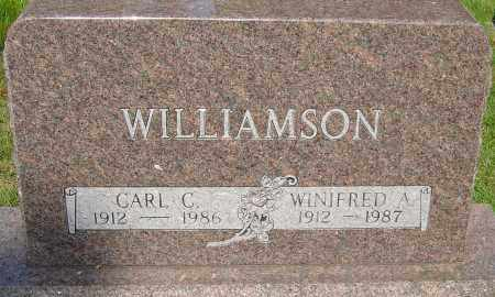 YEAZEL WILLIAMSON, WINIFRED ADELINE - Montgomery County, Ohio | WINIFRED ADELINE YEAZEL WILLIAMSON - Ohio Gravestone Photos