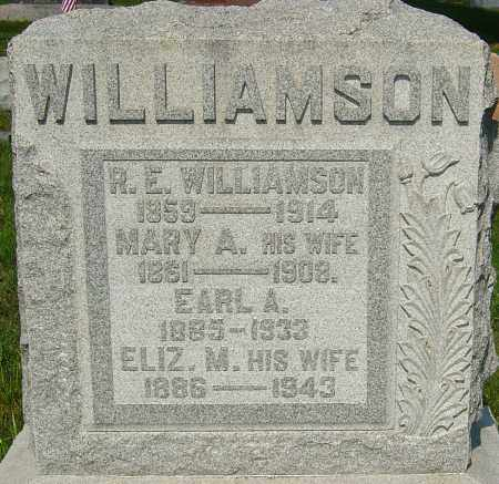 WILLIAMSON, EARL A - Montgomery County, Ohio | EARL A WILLIAMSON - Ohio Gravestone Photos