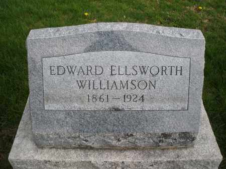 WILLIAMSON, EDWARD ELLSWORTH - Montgomery County, Ohio | EDWARD ELLSWORTH WILLIAMSON - Ohio Gravestone Photos