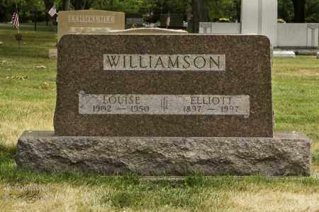 MULL WILLIAMSON, MARY LOUISE - Montgomery County, Ohio | MARY LOUISE MULL WILLIAMSON - Ohio Gravestone Photos