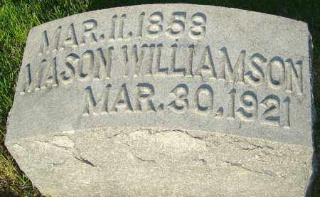WILLIAMSON, MASON - Montgomery County, Ohio | MASON WILLIAMSON - Ohio Gravestone Photos