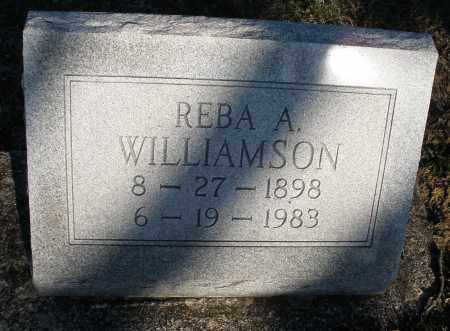 WILLIAMSON, REBA A. - Montgomery County, Ohio | REBA A. WILLIAMSON - Ohio Gravestone Photos