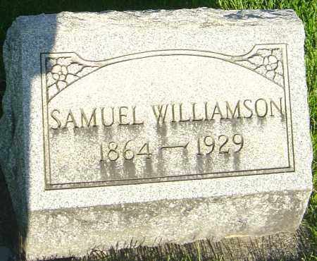 WILLIAMSON, SAMUEL - Montgomery County, Ohio | SAMUEL WILLIAMSON - Ohio Gravestone Photos