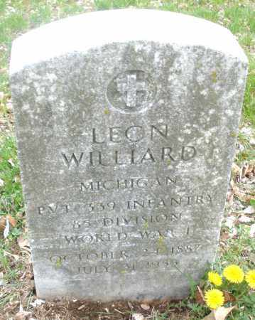 WILLIARD, LEON - Montgomery County, Ohio | LEON WILLIARD - Ohio Gravestone Photos