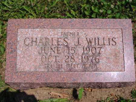 WILLIS, CHARLES J - Montgomery County, Ohio | CHARLES J WILLIS - Ohio Gravestone Photos