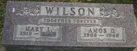 WILSON, AMOS D - Montgomery County, Ohio | AMOS D WILSON - Ohio Gravestone Photos