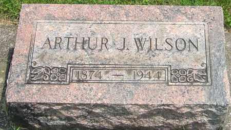 WILSON, ARTHUR J - Montgomery County, Ohio | ARTHUR J WILSON - Ohio Gravestone Photos