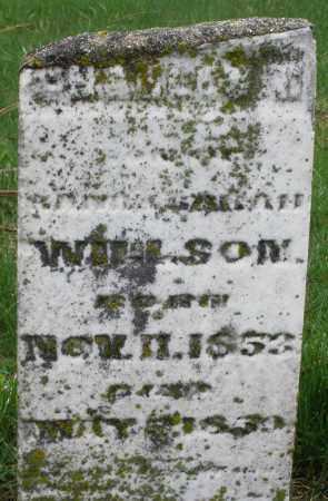 WILSON, CHARLES - Montgomery County, Ohio | CHARLES WILSON - Ohio Gravestone Photos