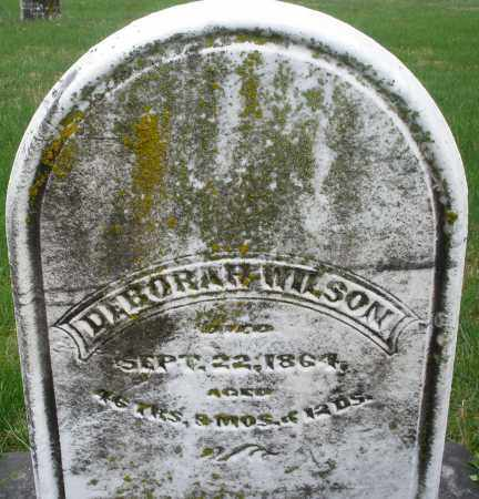 WILSON, DEBORAH - Montgomery County, Ohio | DEBORAH WILSON - Ohio Gravestone Photos