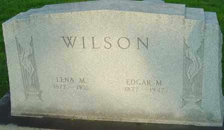 WILSON, EDGAR M - Montgomery County, Ohio | EDGAR M WILSON - Ohio Gravestone Photos