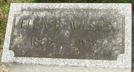 BROADAWAY WILSON, ELLA - Montgomery County, Ohio | ELLA BROADAWAY WILSON - Ohio Gravestone Photos
