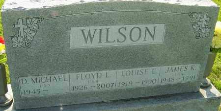 WILSON, FLOYD L - Montgomery County, Ohio | FLOYD L WILSON - Ohio Gravestone Photos