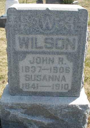 WILSON, SUSANNA - Montgomery County, Ohio | SUSANNA WILSON - Ohio Gravestone Photos