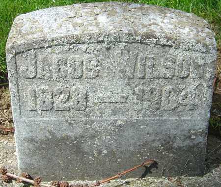 WILSON, JACOB - Montgomery County, Ohio | JACOB WILSON - Ohio Gravestone Photos