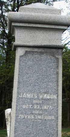 WILSON, JAMES - Montgomery County, Ohio | JAMES WILSON - Ohio Gravestone Photos