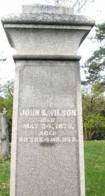 WILSON, JOHN S. - Montgomery County, Ohio | JOHN S. WILSON - Ohio Gravestone Photos