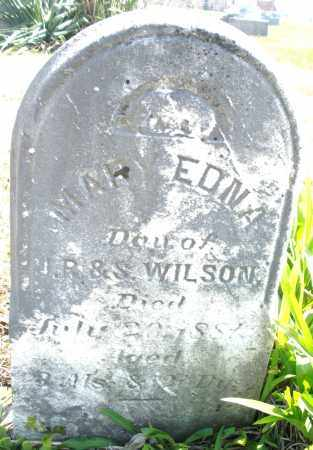 WILSON, MARY EDNA - Montgomery County, Ohio | MARY EDNA WILSON - Ohio Gravestone Photos