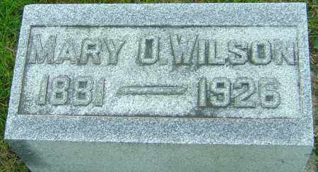 WILSON, MARY O - Montgomery County, Ohio | MARY O WILSON - Ohio Gravestone Photos