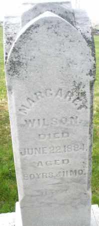 WILSON, MARGARET - Montgomery County, Ohio | MARGARET WILSON - Ohio Gravestone Photos