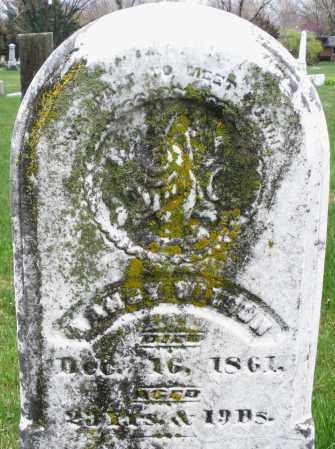 WILSON, NANCY - Montgomery County, Ohio   NANCY WILSON - Ohio Gravestone Photos