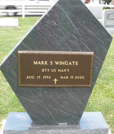 WINGATE, MARK S. - Montgomery County, Ohio | MARK S. WINGATE - Ohio Gravestone Photos