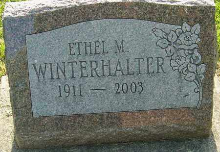 WINTERHALTER, ETHEL MAY - Montgomery County, Ohio | ETHEL MAY WINTERHALTER - Ohio Gravestone Photos